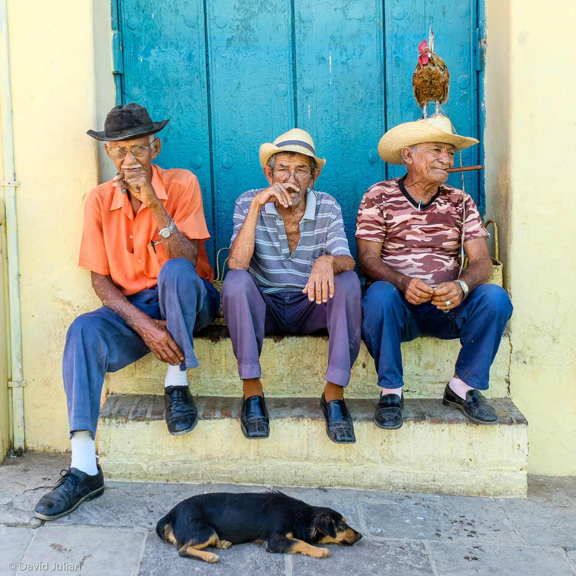 05_Cuba,Trinidad_old_men+rooster+dog-2766-DJeditAPF1860px
