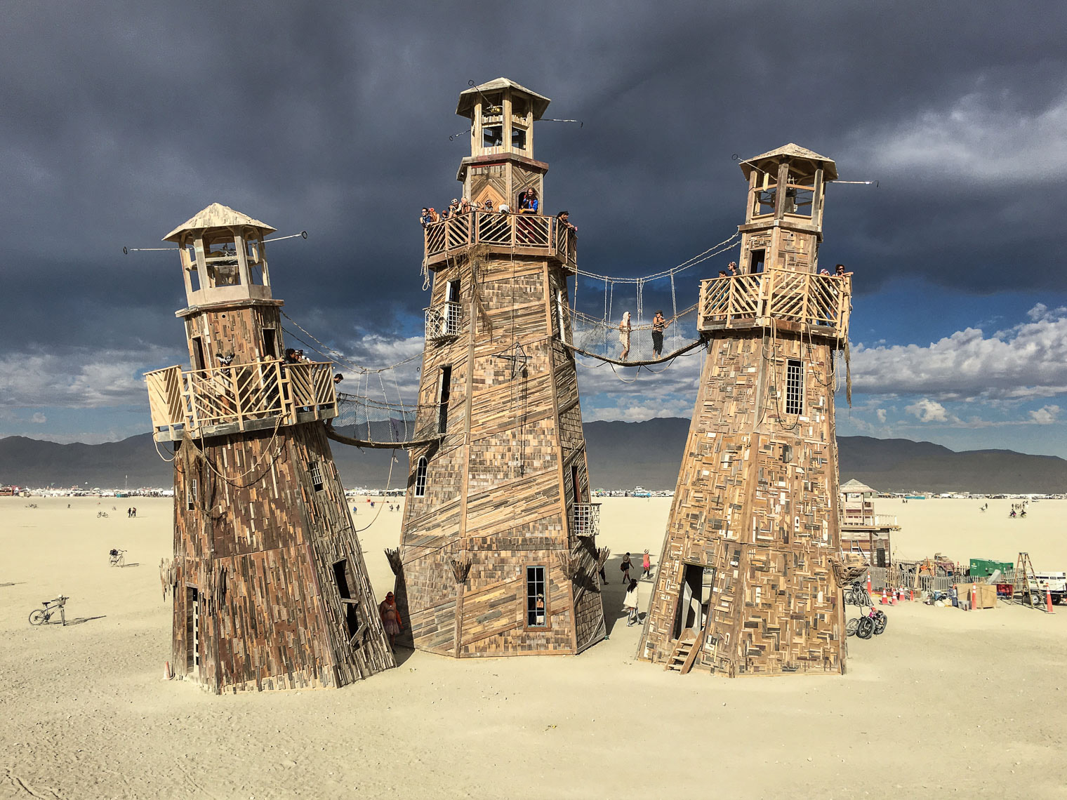The Black Rock Desert Lighthouse Service