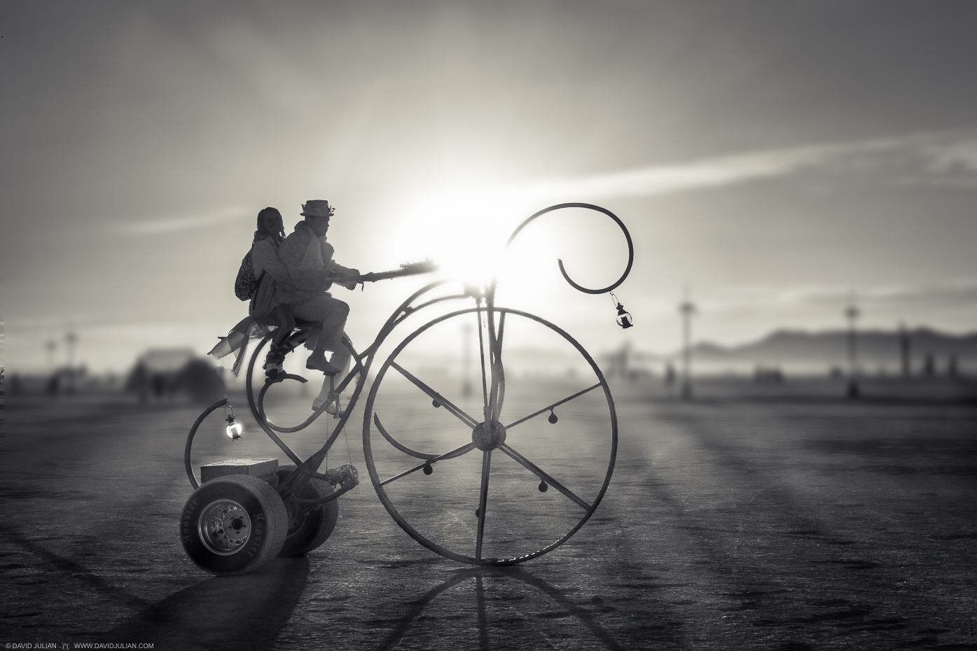 29Burning Man 2015- Giant Tricycle 1401-APF