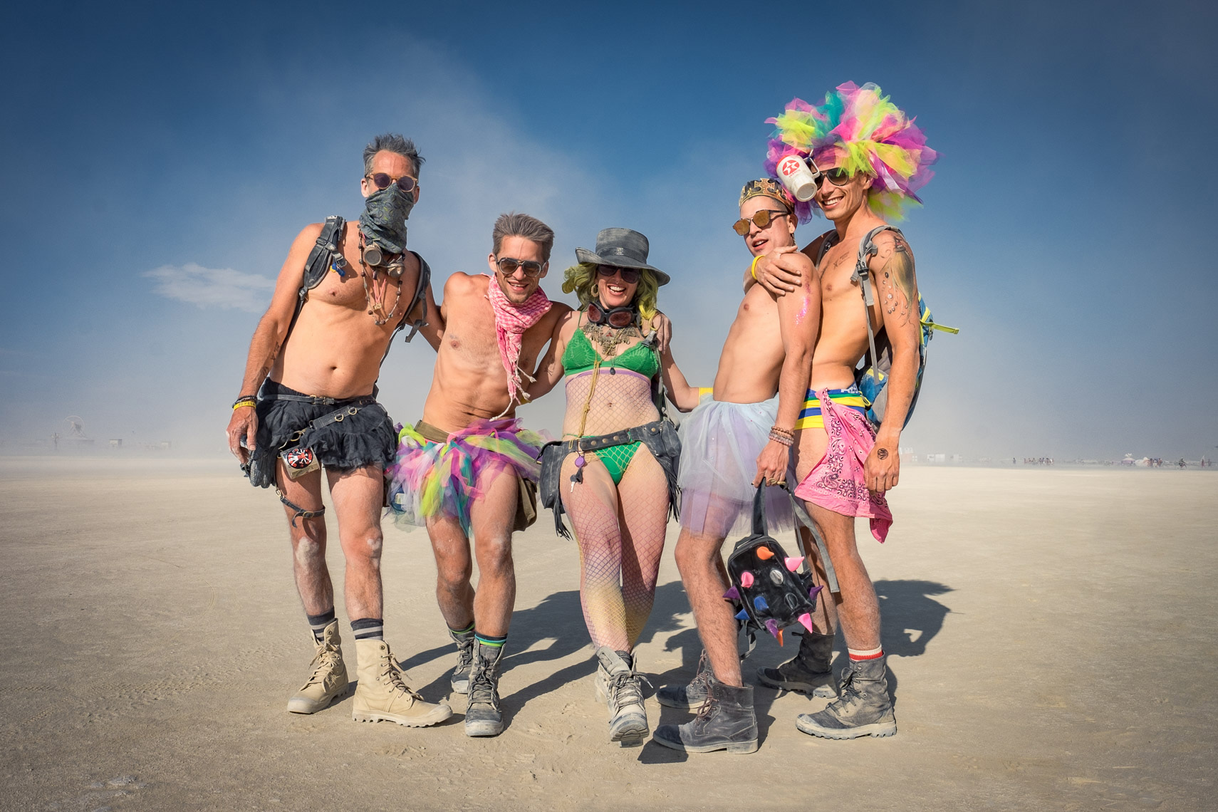 Friends on the Playa. Can you ID these burners?
