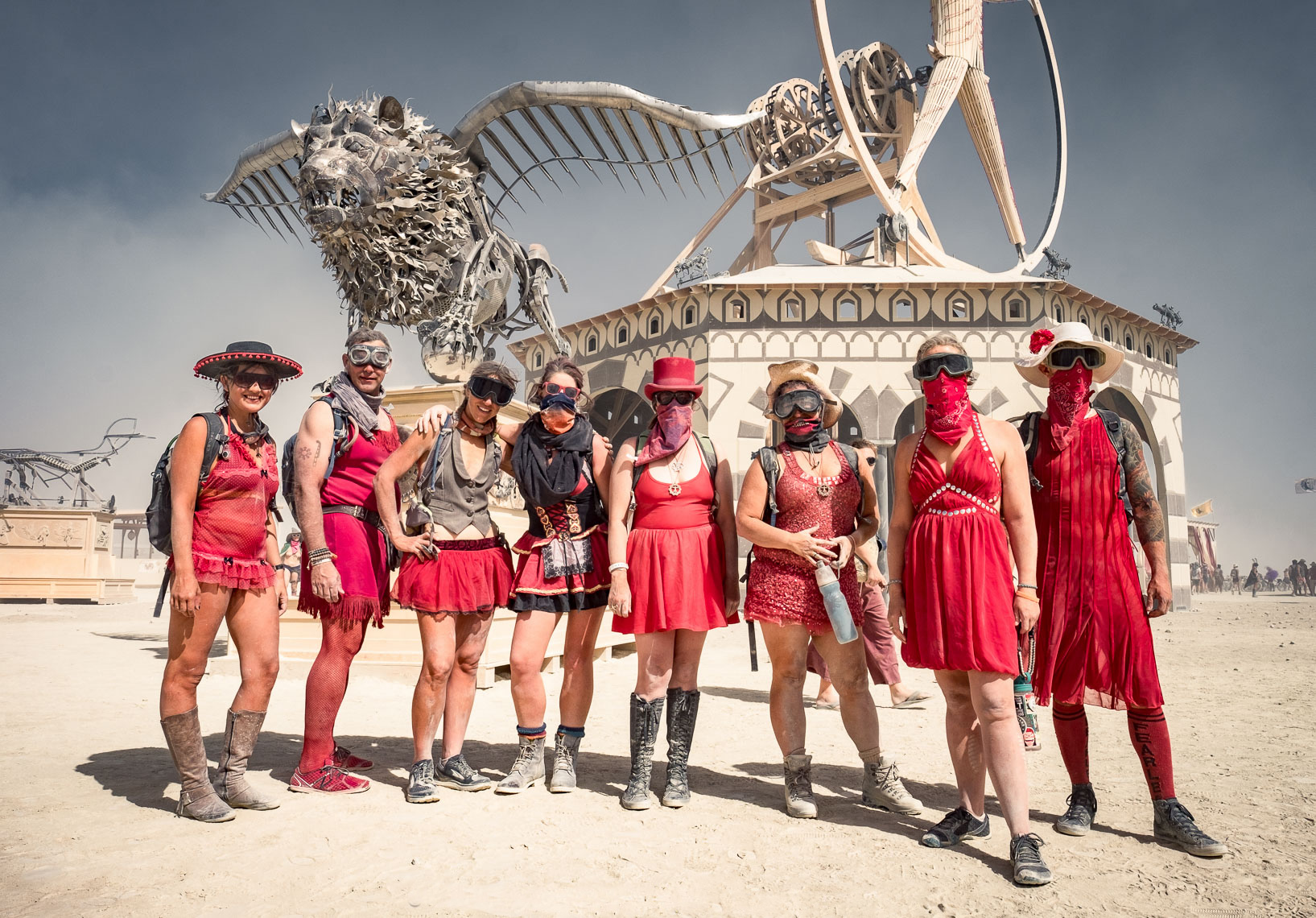 Red Gang at Burning Man