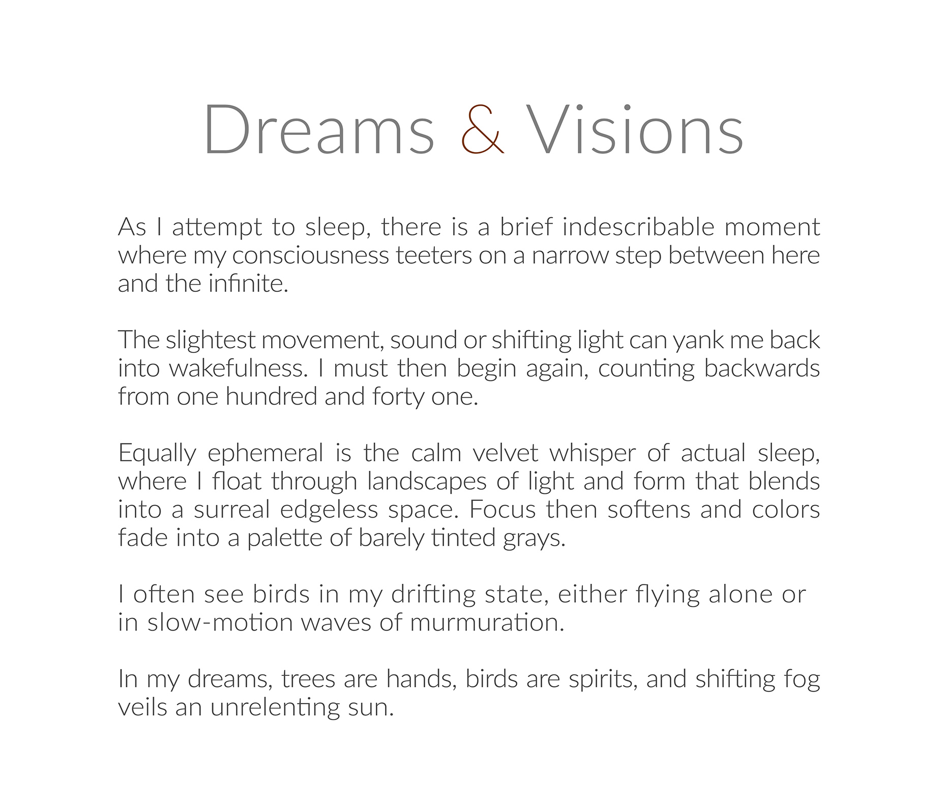 DreamsandVisionsstatement